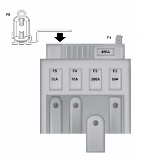 схема блока на акб