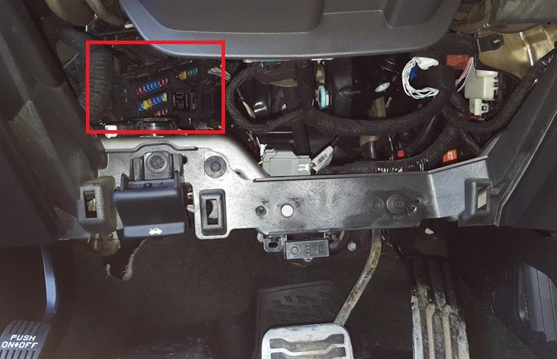 Блок в салоне форд эксплорер 5