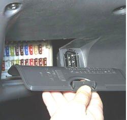 Доступ к блоку в салоне Форд Фокус 1