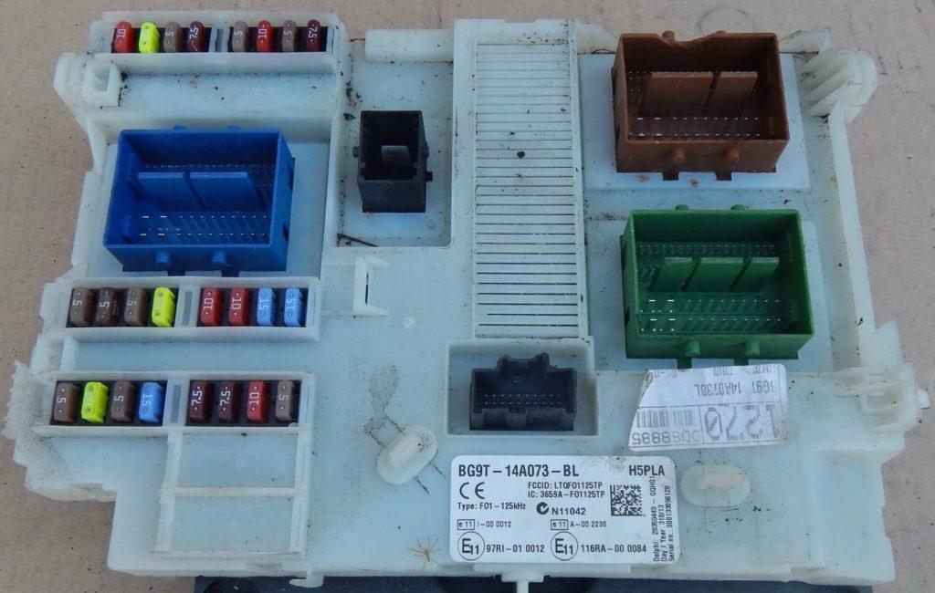 Фото блока в салоне вариант 2