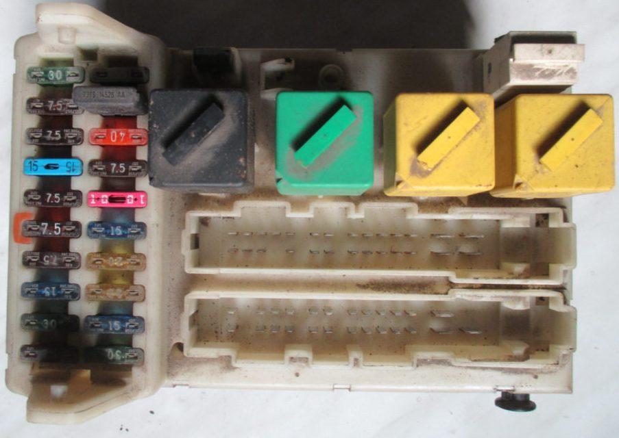 Фотография блока в салоне мондео 1