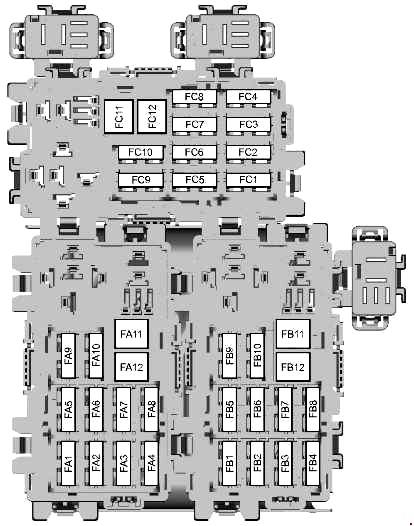 Схема блока в багажнике мондео 4 вариант 2