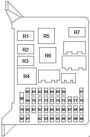 Схема блока в салоне мондео 3