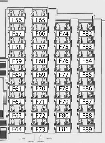 Схема блока в салоне форд фокус 3