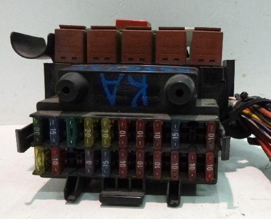 Фото блока в салоне форд ка 1