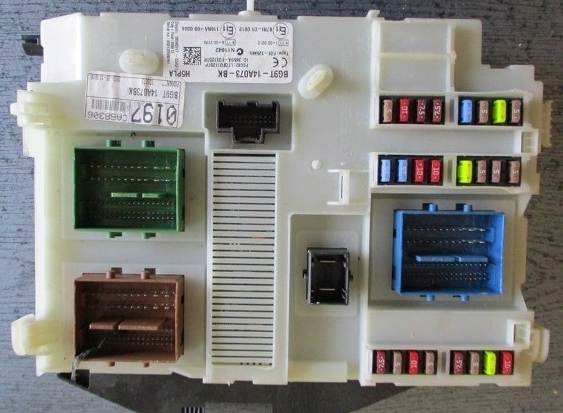 Фотография блока предохранителей вариант 2