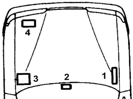 Расположение блоков форд скорпио 2