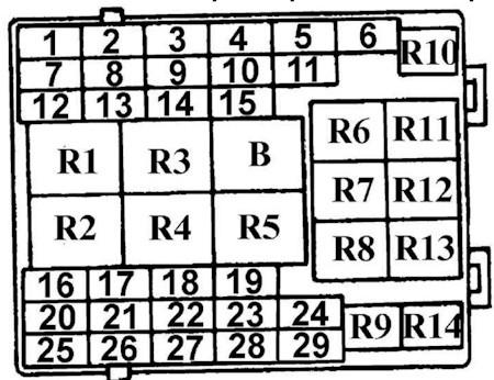 Схема 2 главный блок