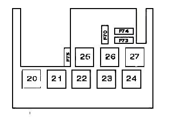 Схема блока с реле 2