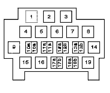 Схема блока с реле