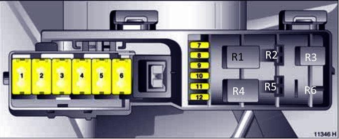 Схема блока под капотом