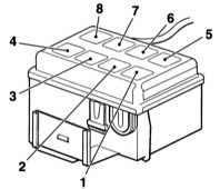 Схема блока реле под капотом опель остра g