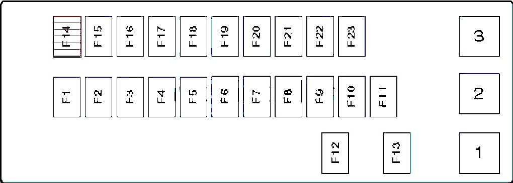 Схема блока в салоне Сузуки Град Витара