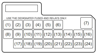 Схема блока в салоне Вариант 2
