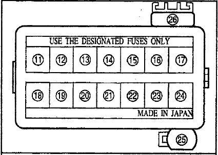 Схема в салоне вариант 2