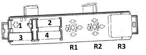Дополнительный блок под капотом - схема