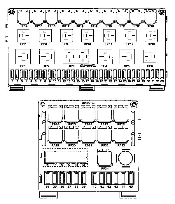 Общая схема блока