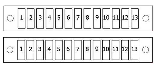 Схема блока нового образца