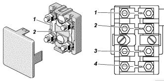 Схема главного блока под капотом УАЗ хантер