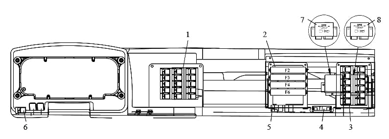 Общая схема камаз 65115