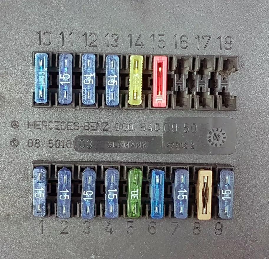 Фото - схема блока под панелью