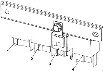 Схема блока реле