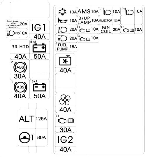 Схема под капотом киа пиканто 2