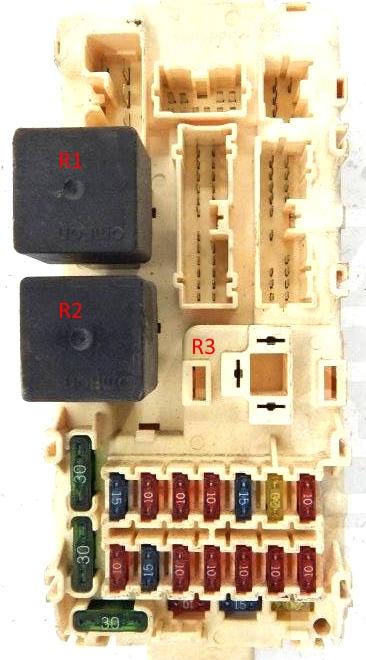 Фото пример блока под капотом