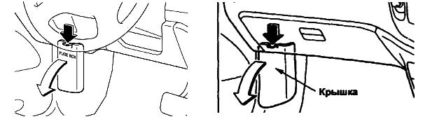 Доступ к блоку в салоне мазда мпв