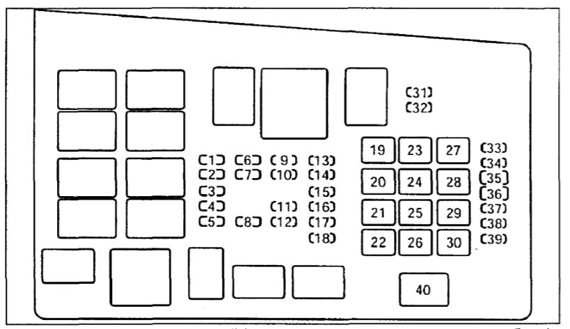 Схема блока под капотом мазда 6 gg