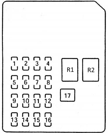 Схема блока в салоне мазда 6 джи джи Вариант 1