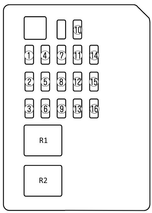 Схема блока в салоне мазда 6 gg