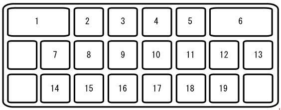 Схема блока в салоне сх7 вариант 2