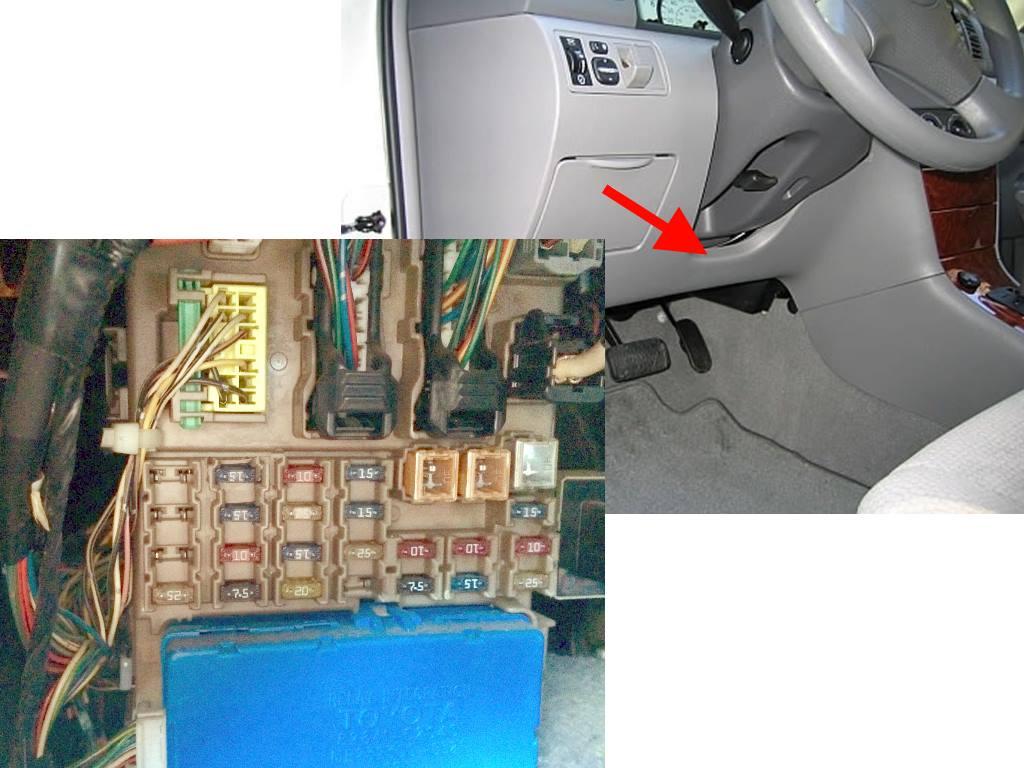 Блок в салоне левый руль