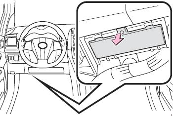 Доступ левый руль