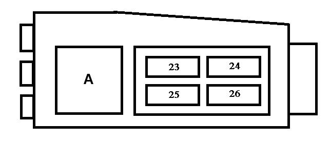 Схема доп блока под капотом
