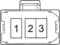Схема блока плавких вставок
