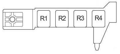 Схема левый руль