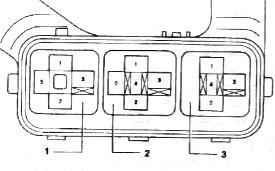 Схема блока реле под капотом Виста св 40