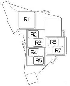 Схема реле Левый руль