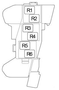 Схема блока реле 4