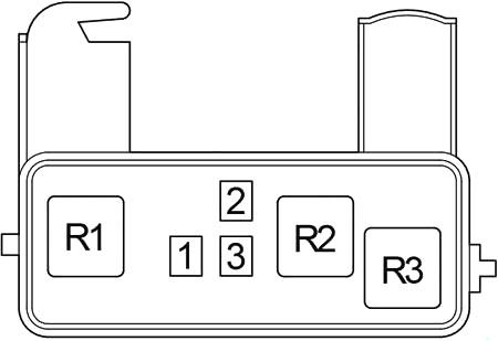 Схема доп блока реле