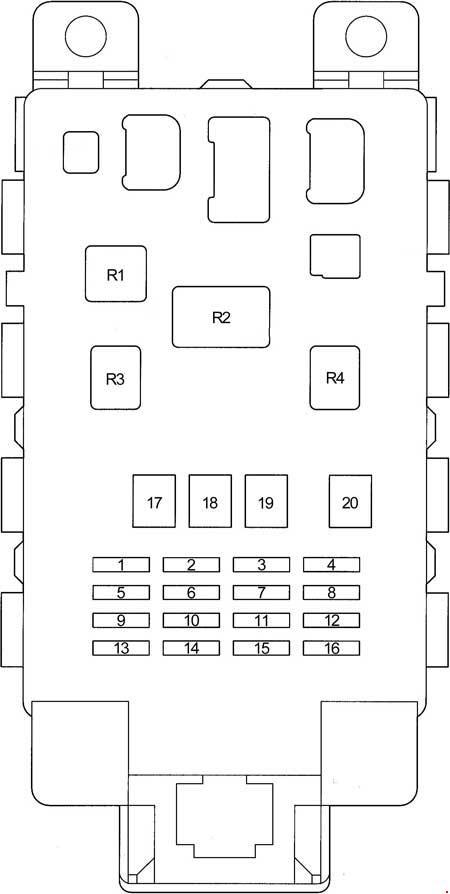diagram fuse box toyota p10