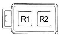 Схема блока реле под капотом